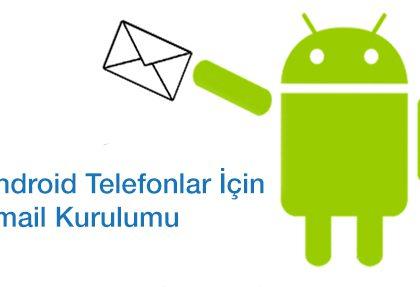 Android için POP3 Mail Kurulumu!